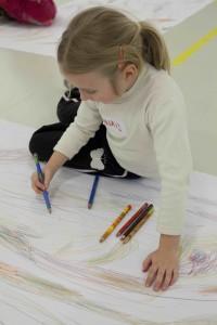"""Atelier avec les enfants """"Cycle Jeune Talents"""" - """"Filomena Borecka """"Souffle à emporter"""" Centre Pompidou"""
