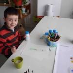 Alexander (5 ans) - dessin pour le Jeu de Bowling